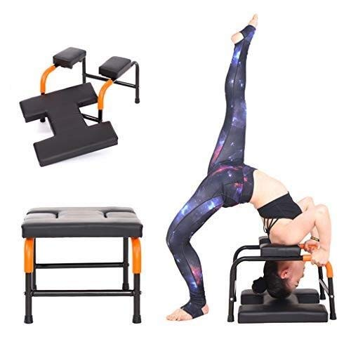 Buy Bargain JIAJIA Yoga Headstand Yoga Headstand Bench for Head Stand Exercise, Headstand Chair,Stre...