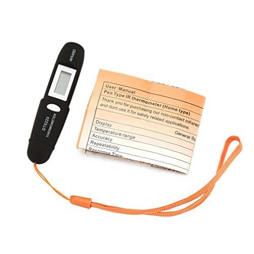 DT8220 Digital LCD Mini termómetro infrarrojo medidor de te