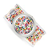 Watchitude Slap Watch, Sprinkle Dots - One Size, Boys and Girls, Plunge Proof, Removable Analog Face, Colorful and Inspiring, Interchangeable Silicone Bands, Fun and Inspiring Bracelet Watches