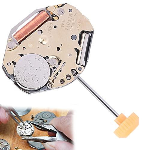 Movimiento de reloj 1L45, movimiento de reloj de material de aleación profesional, buen reemplazo para taller de reparación de relojes para piezas de reparación de relojes