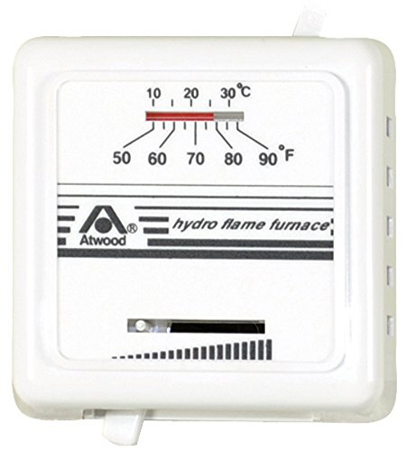 Atwood White Hydro Flame 38453 Mechanical Thermostats-Heat