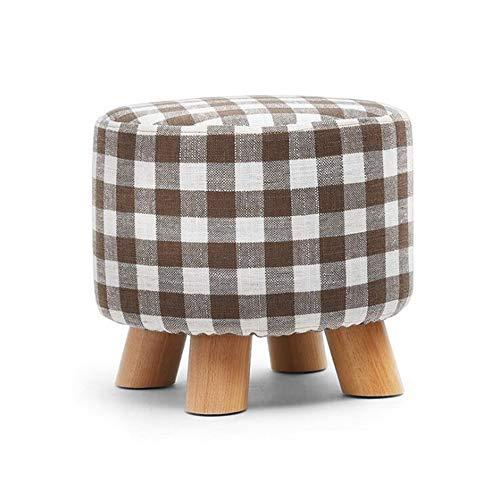 KIMSAI Effen Hout Stoo Kleine Kruk Koffie Tafel Bank Huis Huishoudelijke Houten Krukken Mode Creatieve Sofa Krukken Zes Kleuren Optioneel