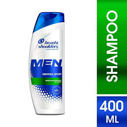 Shampoo Head & Shoulders Men Menthol Sport 400ml
