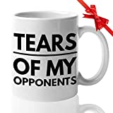 Lawyers Coffee Mugs - Funny Gift For Supreme Attorney Law Student - Civil Rights Court History Political Cases - Tears of My Opponents