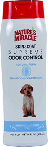 Nature's Miracle Supreme Odor Control Puppy Shampoo