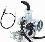 MothAr Carburetor & Throttle Cable fits Honda 3-Wheeler ATC 90 ATC 110 ATC125M