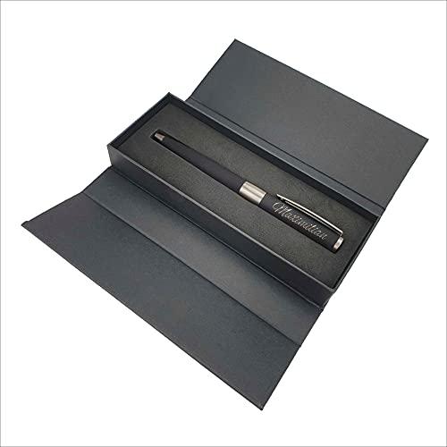 Kugelschreiber von Senator mit Name graviert - Hochwertiges personalisiertes Schreibset - mit individueller Gravur als Geschenk