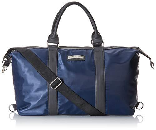 Perry Ellis 63481 Duffle Bag Perry Ellis Para Viaje Ideal Para Viajes Cortos, Color Azul, Chico