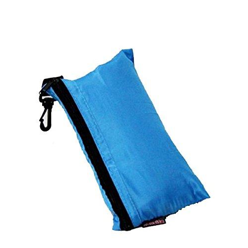 Pixnor simple sac de couchage camping voyage Mini Sac de couchage (Bleu ciel)