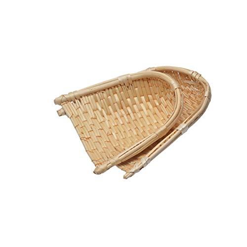 GUYUEXUAN Prodotti Liu Cestini di bambù, cestini di bambù, cestini di bambù, zappette per la casa, zattere di bambù, Cerimonia del tè Stuoie di bambù Asciugatura e Asciugatura di bambù, 20 CM, 30 CM,