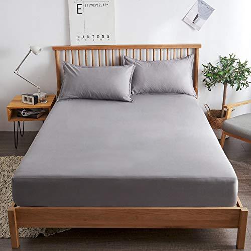 haiba sábana de una sola pieza cubierta protectora de colchón, cubierta de polvo antideslizante, 100cmx200+10cm