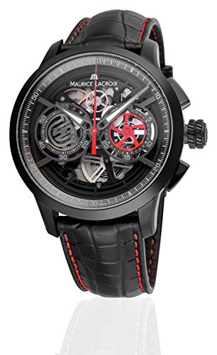Photo of Maurice Lacroix Masterpiece Skeleton Automatic Watch, Chronograph, ML 206, PVD