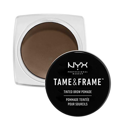 NYX Professional Makeup Gel Sopracciglia Tame & Frame Tinted Brow Pomade, Brunette
