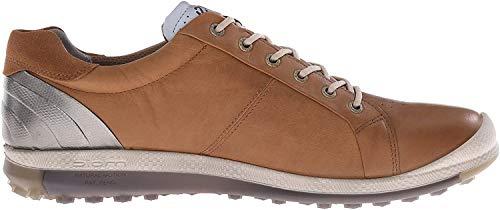 Ecco Golf Biom Hybrid 2 - Zapatos de golf para hombre, Marrón (CAMEL/OYESTER59399), talla 40 EU