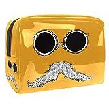 Kit de Maquillaje Neceser Gafas De Sol Barba Make Up Bolso de Cosméticos Portable Organizador Maletín para Maquillaje Maleta de Makeup Profesional 18.5x7.5x13cm