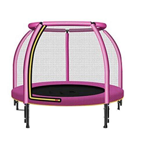 LINZI Indoor trampoline for kids my first trampoline mini trampolines for kids (Color : Pink)