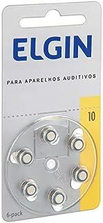 Bateria Zinco AR 10/ PR70/ 230 1.4V para aparelhos auditivos blister com 6, Elgin, Baterias