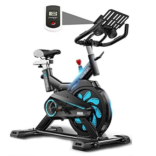 SAFGH Bicicleta estacionaria Bicicleta estática Control magnético para el hogar Máquina elíptica Bicicleta estacionaria Escritorio Cinta de Correr silenciosa Scooter de Interior