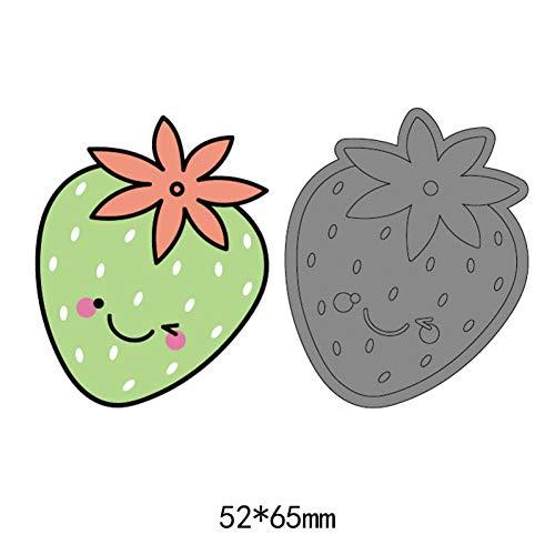 YAOKAIDAN Linda Fruta Fresa Fresa Corte de Acero Muere para DIY Scrapbooking artesanía de Papel Artesanal Dibujos Animados cupones de Alimentos Plantilla de Dados de Fruta