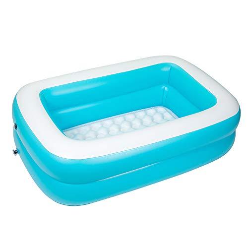 Piscina hinchable, piscinas hinchables cuadradas con borde anticolisión, para bebés, niños, niños, niños, niños, niños, niños, niños, niños, niños, niños, niños, niños, niños, piscinas familiares