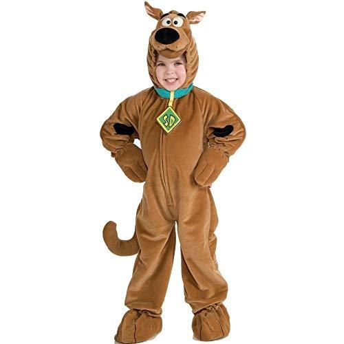 Deluxe - Disfraz de scooby doo para niño, talla 3-4 años (50978)