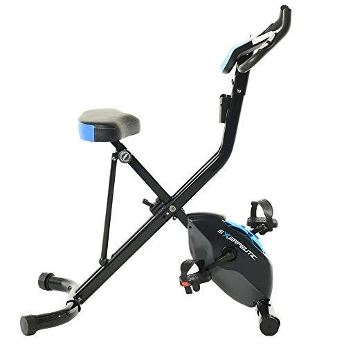 Bluetooth Smart Technology Folding Upright Exercise Bike