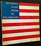 Saturday night: Poems 1960-61
