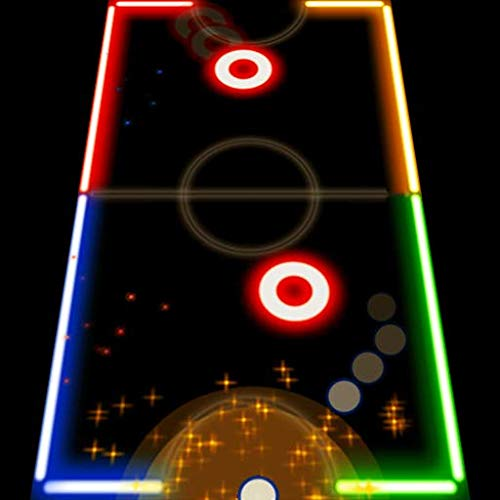 Color Glow Air Hockey