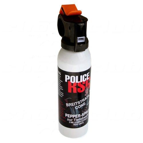 Pfefferspray RSG-Police Pfefferspray, 200ml Breitstrahl (12200-H)