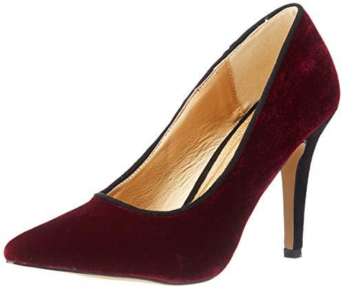 El Caballo Palonegro, Zapato de tacón para Mujer, Burdeos, 39 EU