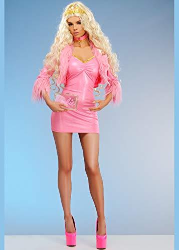 Magic Box Disfraz de muñeca de Juguete Femenino Rosa para Mujer Small (UK 6-8)