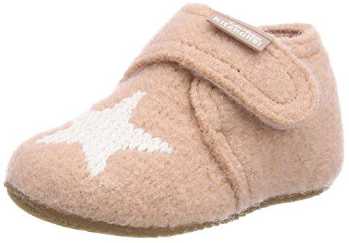 Living Kitzbühel Jungen Unisex Kinder Babyklett. Mit Sternenstick Hausschuhe, Pink (Rose Cloud 331), 21 EU