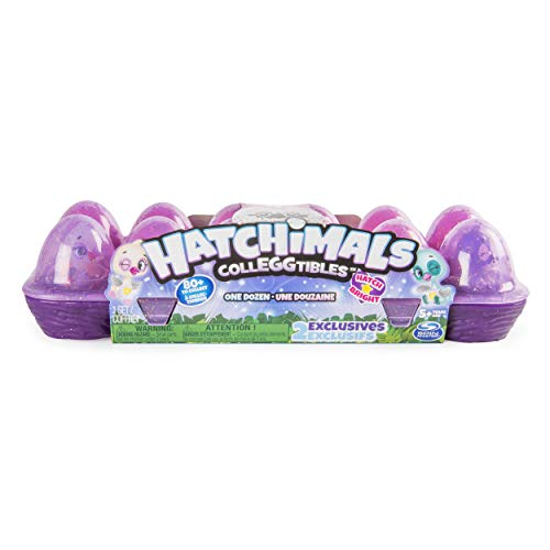 Hatchimals CollEGGtibles,  12 Pack Egg Carton with Exclusive Season 4 Hatchimals CollEGGtibles, for Ages 5 and Up (Styles and Colors May Vary)