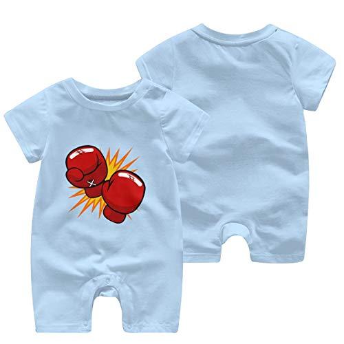 Baby-/Kleinkind-Boxhandschuhe, kurzärmelig, Cartoon-Design Gr. 2 Jahre, himmelblau