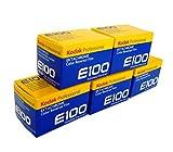 Kodak リバーサルフィルム エクタクローム E100 135-36枚撮(5本パック)