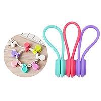 Applicazioni larghe avvolgitori–il cavo magnetico può essere utilizzato in molti modi. Possono essere utilizzati per la gestione dei cavi, appendere chiavi, avvolgere le cose in cucina o fissare alcuni sacchi. È la soluzione ideale per conservare t...