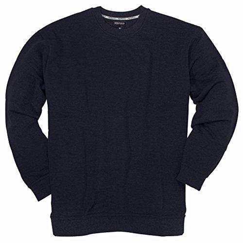 Redfield Rundhals Sweatshirt - Bis 10XL 1a Qualität, Größe:10XL