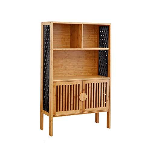 YIONGA CAIJINJIN Shelf Solid Wood Bookshelf Table Storage Multi-layer Storage Rack Floor-standing Flower Stand Two Sizes (Size : 69.5 * 30 * 139.5cm) Bathroom