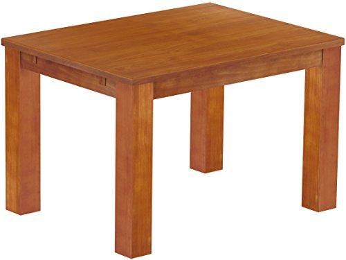 Brasilmöbel Esstisch 'Rio Classico' 120 x 90 x 78 cm, Pinie Massivholz, Farbton Kirschbaum
