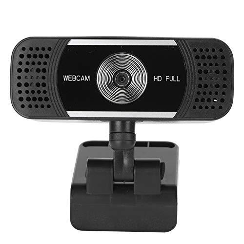 Cámara Web USB, PC HD, Mac, computadora portátil, Plug and Play Cámara de transmisión por secuencias USB Cámara Web para Profesores en Vivo de Clase para Youtube, videollamadas de Skype para estudiar
