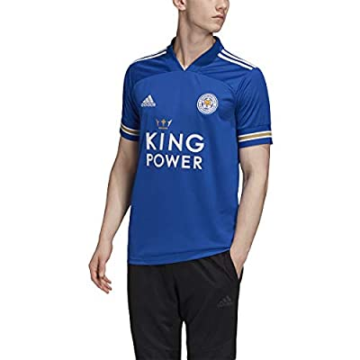adidas Men's Leicester City FC 2020-21 Home Jersey (XX-Large) Team Royal Blue/White