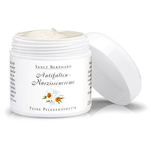 Sanct Bernhard Antifalten-Narzissencreme feine Pflegekosmetik mit Weizenkeimöl, Vitamin C und E 100 ml