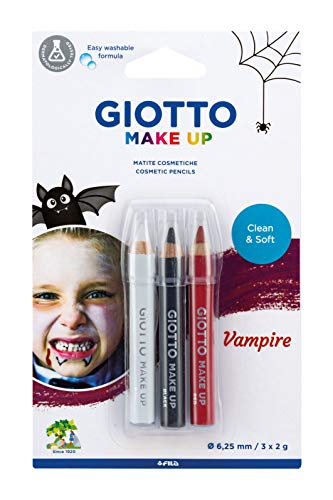 Giotto Tris Matite Vampiro Trucchi per Bambini (FILA, 473500)
