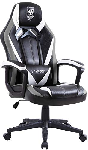 Gaming Chairs for Adults, PC Gaming Chair with Massage, Big and Tall Gamer Chair, Carbon Fiber Modern Computer Chair, Ergonomic Home Office Desk Chairs, Gaming Desk Chair, Video Game Chair for Teens