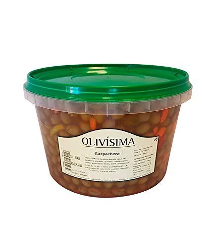 ACEITUNA GAZPACHA OLIVISIMA PNE 4.5 KG (1 UNIDAD)