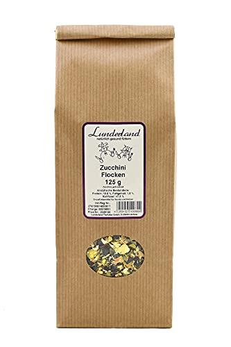 Lunderland Zucchini Flocken 125 g