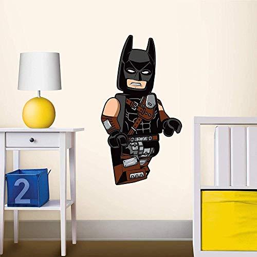 Pegatinas de pared 1001d Lego 52372 Batman Adhesivo De Pared