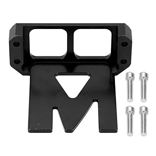 Gedourain Servoschutz, lebensechter, sehr Cooler und praktischer Servoschutz aus Aluminiumlegierung für ferngesteuerte Autos für RC-Autos Zubehör(Black)