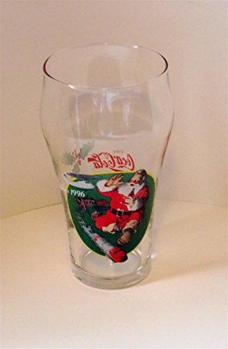 Collection 1996 Coca-Cola Verre Père Noël – 567 g – Neuf – Scellé et expédié sous 24 heures