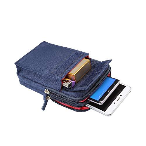 SZCINSEN Funda deportiva para cinturón para Samsung S10 Lite, S20+, S20 Ultra, Note10+, Note 10 Lite, J5, J7 (color: azul)